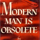 Modern Man is Obsolete by Norman Cousins ~ Book 1945