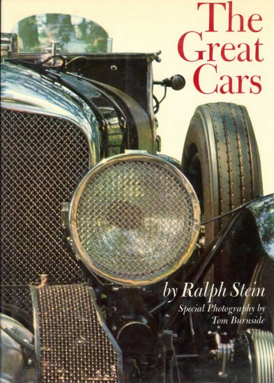 The Great Cars by Ralph Stein ~ Book 1967