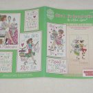 Girl Friend-zies ~ Cross-stitch booklet 2005 ~ Alma Lynne