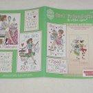 Girl Friend-zies ~ Cross-stitch booklet 2005 ~ Alma Lynne