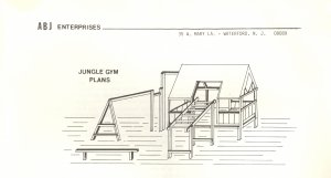 free plans for wooden jungle gyms