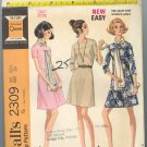 McCall's 2309 ~ Uncut Vintage Dress Pattern 1970 ~ size 12
