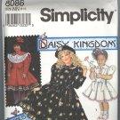 Simplicty # 8086 ~ Uncut Daisy Kingdom Pattern ~ size 8-14 Girls ~ 1992