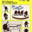 Mini-Raisins in Concert ~ Cross-Stitch Chart ~ 1988