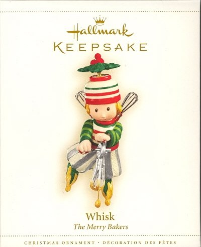 Hallmark Ornament ~ Whisk ~ The Merry Bakers ~ 2006