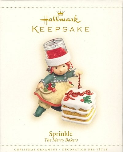 Hallmark Ornament ~ Sprinkle ~ The Merry Bakers ~ 2006