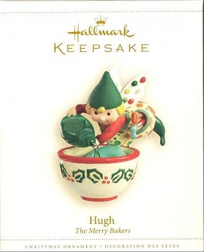 Hallmark Ornament ~ Hugh ~ The Merry Bakers ~ 2006