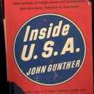 Inside U. S. A. by John Gunther ~ Book 1947