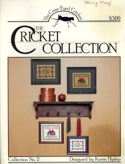 Collection No. 2 ~ Karen Hyslop ~ Cross-stitch Chart 1983