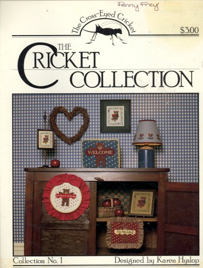 Collection No. 1 ~ Karen Hyslop ~ Cross-stitch Chart 1983