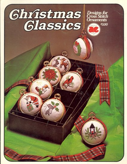 Christmas Classics ~ Ornaments ~ Cross-stitch Chart 1979