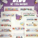 Bibs by the Bunch by Linda Gillum ~ Cross-stitch Chart 1990