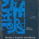 Modern English Handbook by Robert M. Gorrell and Charlton Laird ~ Book 1963