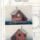 The Tree House ~ Birdhouse & Feeder ~ Decorative Painting Pattern 1991