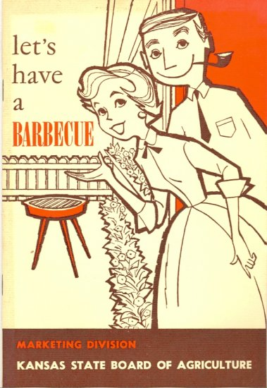 Vintage Let's Have A Barbecue ~ Cook Booklet