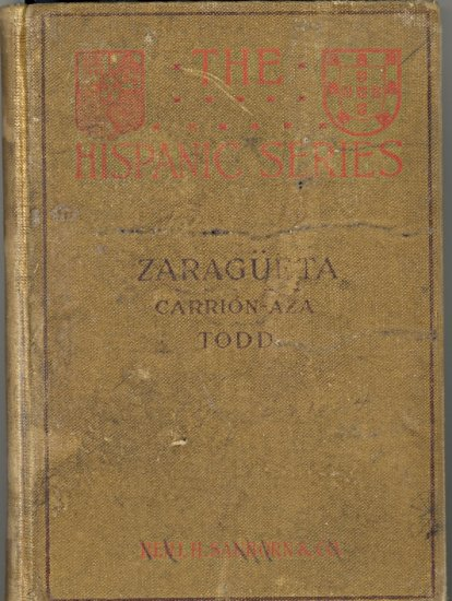 Zaragueta Comedia (The Hispanic Series) ~ Book 1921