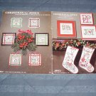 Christmas by Jinice by Jinice Beacon & Vi Etmund ~ Cross-Stitch Chart 1982