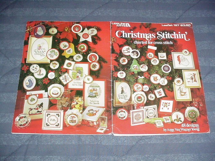 Christmas Stitchin' by Anne Van Wagner Young ~ Cross-Stitch Chart 1981