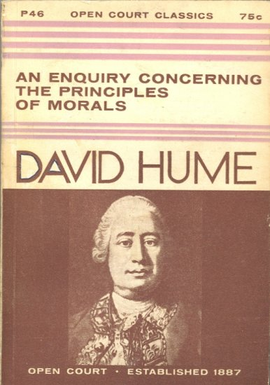 An Enquiry Concerning the Principles of Morals by David Hume ~ Book 1960