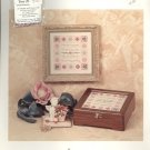 True Friends by Nan Caldera ~ Cross-Stitch Chart with Beads 1996