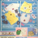 Clothing Designs for Little People by Anne Van Wagner Young ~ Cross-Stitch Chart 1983
