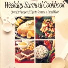 Weekday Survival Cookbook by Kraft ~ 1991