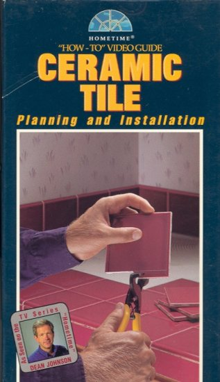 How-To Video Guide Ceramic Tile (Planning and Installation) ~ VHS Tape ~ 1994