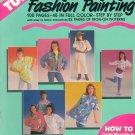 Tulip Fashion Painting Iron-On Transfer ~ 1990 Book