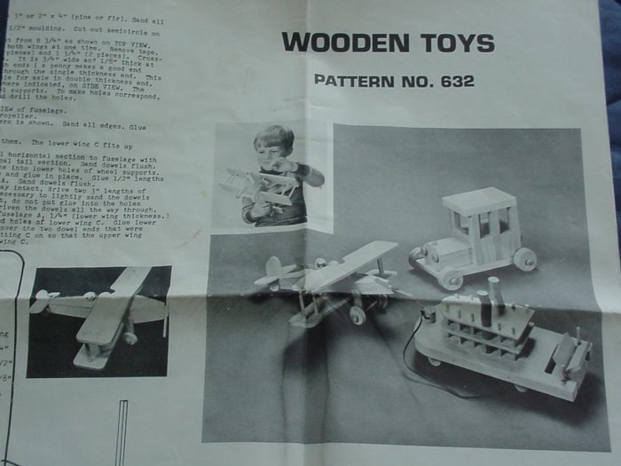 Wooden Toys 1979 ~ U-Bild Wood Pattern