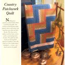 Country Patchwork Quilt ~ Pattern 1989