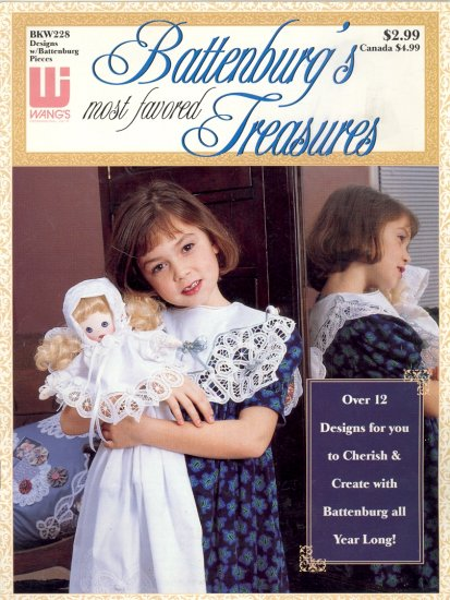 Battenburg's Most Favored Treasures ( 12 designs ) ~ Booklet 1994