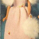 Vintage Barbie Evening Ensemble Knit Pattern