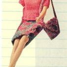Vintage Barbie Doll's Coordinates Knit Pattern