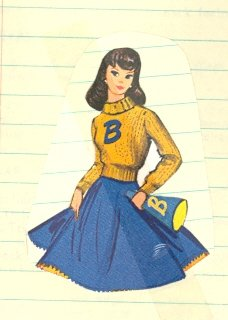 Vintage Barbie Sweater Knit Pattern