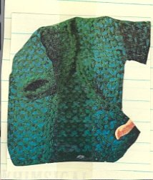 Vintage Barbie Coat Knit Pattern
