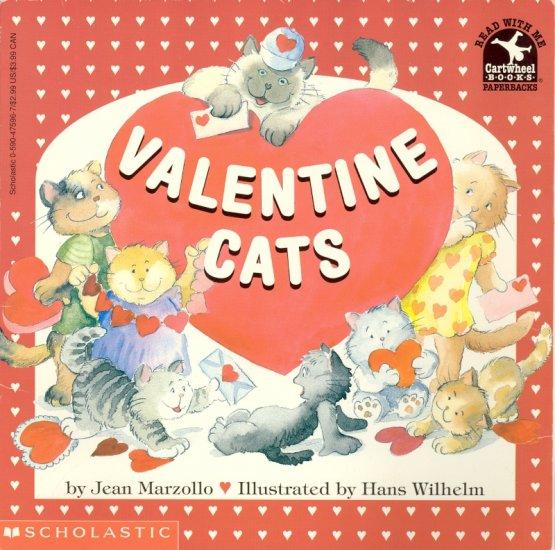 Valentine Cats ~ Book 1996