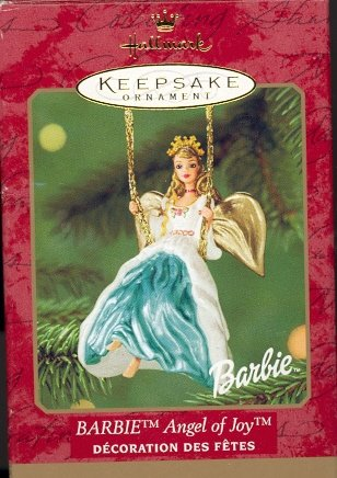 Hallmark Ornament ~ Barbie Angel of Joy 2000