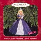 Hallmark Ornament ~ Millennium Princess Barbie 1999