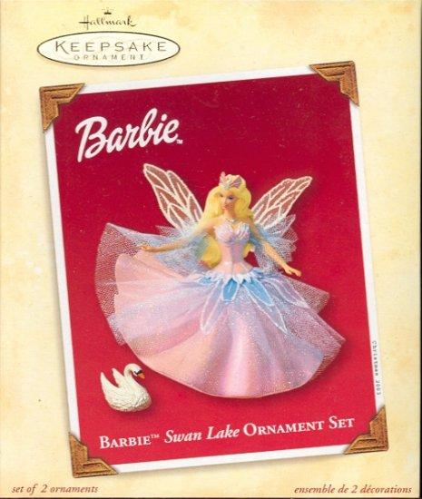 Hallmark Ornament ~ Barbie Swan Lake 2003