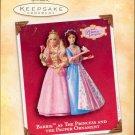 Hallmark Ornament ~ Barbie as the Princess and the Pauper 2004