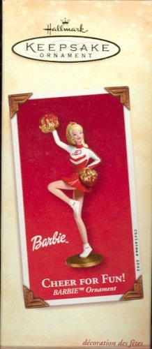 Hallmark Ornament ~ Barbie Cheers for Fun!  2002