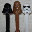 Star Wars ~ Darth Vader ~ Chewbacca ~ Stormtrooper ~ PEZ