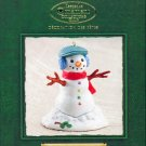 Hallmark Ornament ~ Santa's Big Night:  Snowman 2002 ~ Katrina Bricker ~ Member Club Ornament