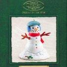 Hallmark Ornament ~ Santa's Big Night:  Snowman 2002 ~ Katrina Bricker ~ Member Club Ornament