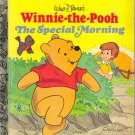 Winnie the Pooh The Special Morning ~ Little Golden Book 1980