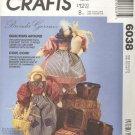 "McCalls Pattern # 6038 ~ Ducks ~ 12"" male & female ~ 1992 ~ UNCUT"
