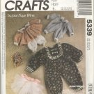 McCalls Pattern # 5339 ~ Bunny Wraps ( Clothing ) by/par Faye Wine ~ 1991 ~ UNCUT