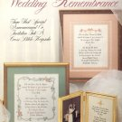 Wedding Remembrance by Anne Van Wagner Young ~ Cross-Stitch Chart 1987