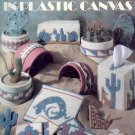 Desert Designs in Plastic Canvas by Anne Fetzer ~ Plastic Canvas Chart 1990