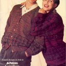 Family Treasures ~ Sweaters ~ Knit Pattern 1993